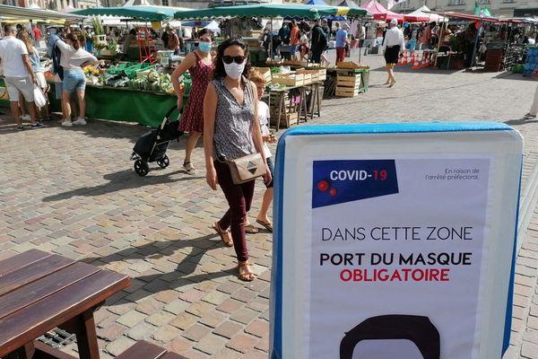 L'obligation de porter le masque à Cherbourg en Cotentin est prolongée jusqu'au 31 octobre