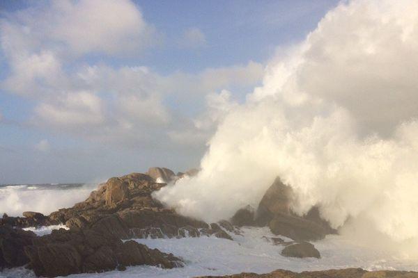 Le vent souffle à Penmarc'h