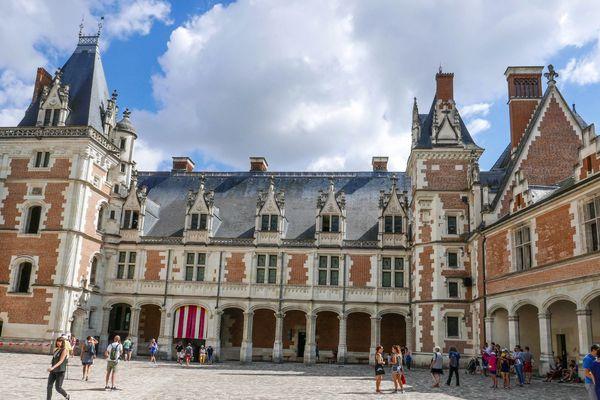 Le château de Blois, l'un des hauts lieux touristiques de la région.
