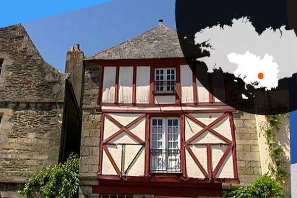 Rochefort-en-Terre, cité médiévale, classée parmi les plus beaux villages de France