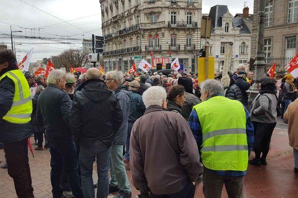 Manifestation contre le chômage à Limoges