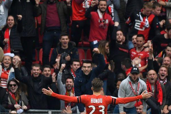 Rohazon Park lors du match Rennes-Monaco 01/05/19