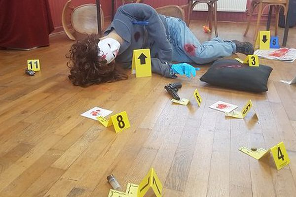 Reconstitution de scène de crime
