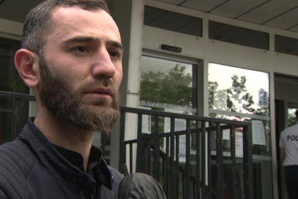 Rasoul Timirguiriev, fils d'un des hommes interpellés