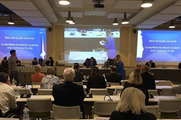 A Alès, dans le Gard, le conseil municipal pour réélire Max Roustan s'est tenu ce samedi 23 mai 2020.