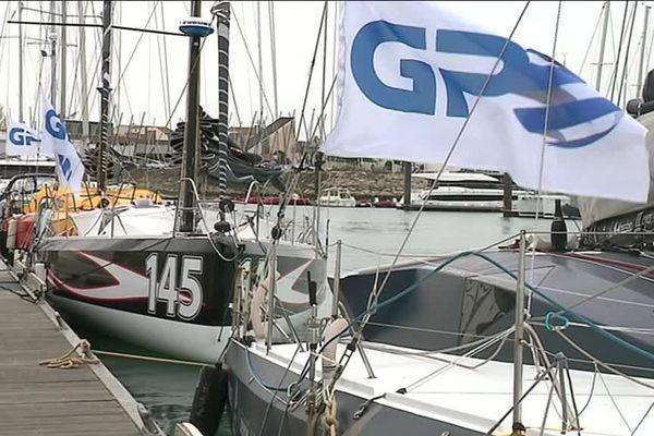 Les bateaux sont arrivés cette nuit à La Rochelle