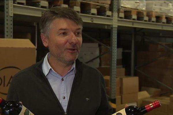 Bruno Le Breton exploite 55 hectares de vignes à Combaillaux dans l'Hérault