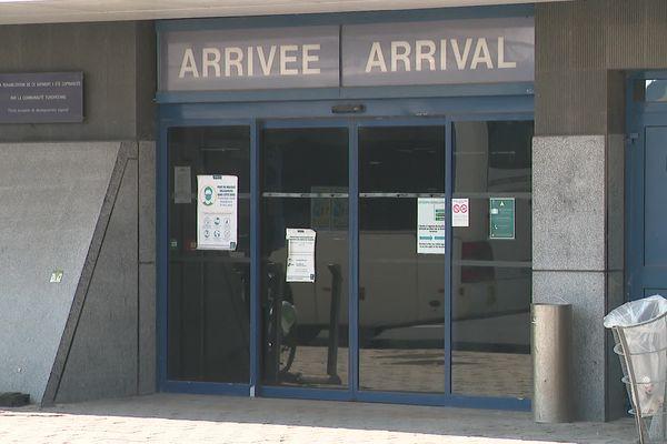 Arrivées au port de Calais