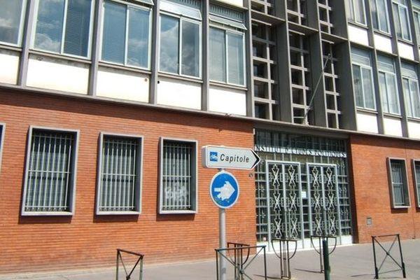 Les locaux de Sciences Po Toulouse rue des Puits creuses