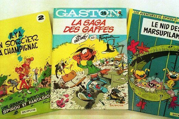 Spirou, Lagaffe, le Marsupilami, Fantasio...Ils pourraient avoir le droit à leur parc d'attraction d'ici deux ans dans la Vallée du Rhône.