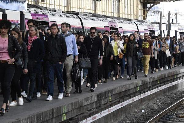 De nombreuses lignes de RER et Transilien sont impactées par cette grève qui fait suite à un accident dans les Ardennes. (Photo d'illustration)