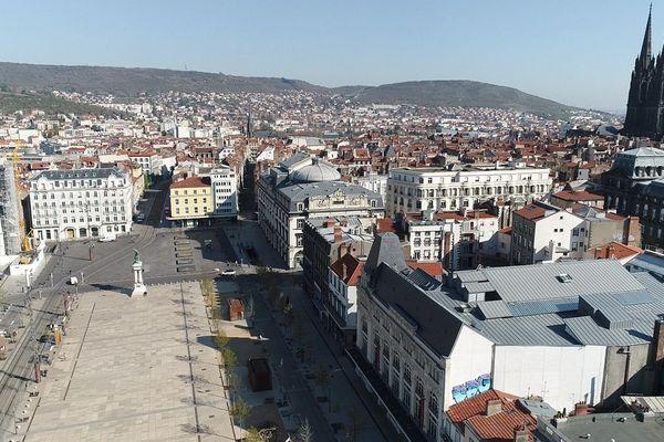 Depuis le confinement, Clermont-Ferrand vit au ralenti.