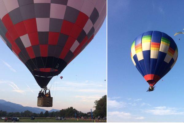 Les montgolfières ont pris leur envol ce samedi matin lors de la 46e Coupe Icare.