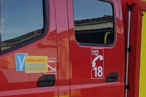 L'incendie a nécessité l'intervention d'une trentaine de pompiers du Vaucluse