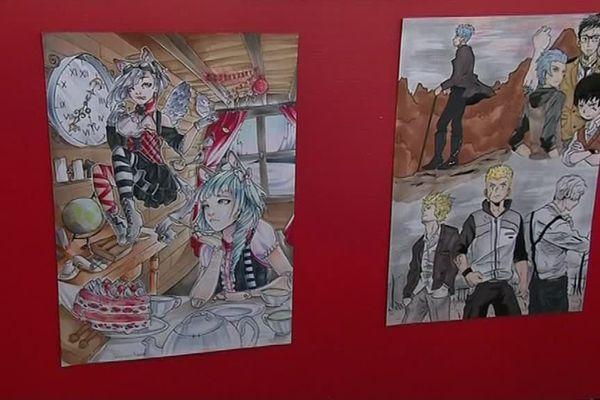 Manga'titude 2018 : concours de dessins