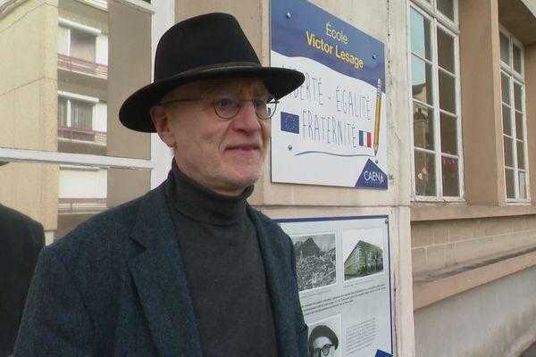 Bruno Franc, le professeur de Mika en CM2 exerce toujours à l'école Victor Lesage de Caen.