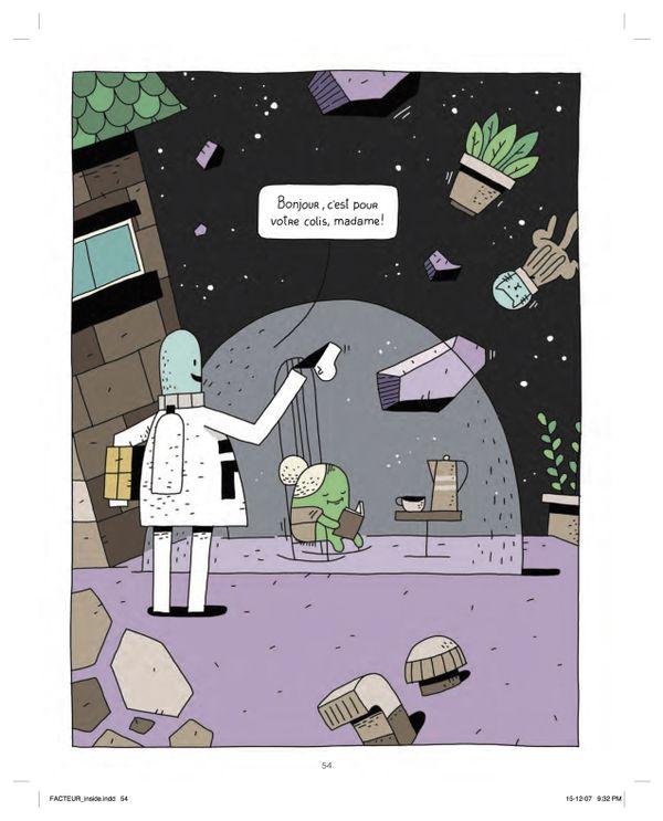 Le facteur de l'espace de Guilaume Perreault