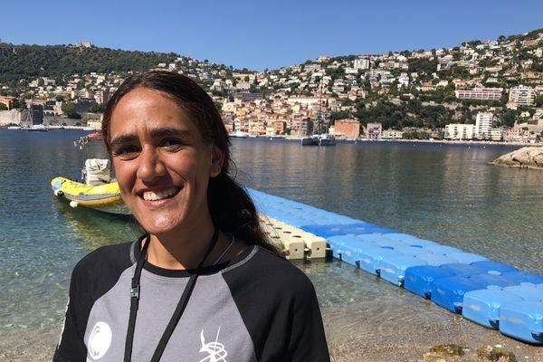 Sonia Yahyaoui est la seule apnéiste tunisienne à participer aux championnats du monde d'apnée Aida à Villefranche-sur-Mer