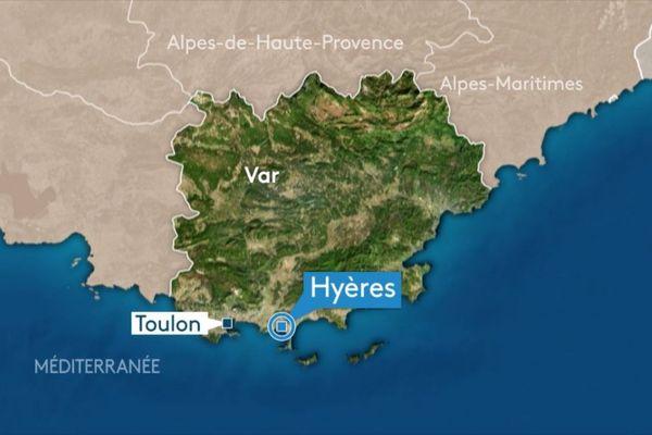 La commune de Hyères, dans le Var.
