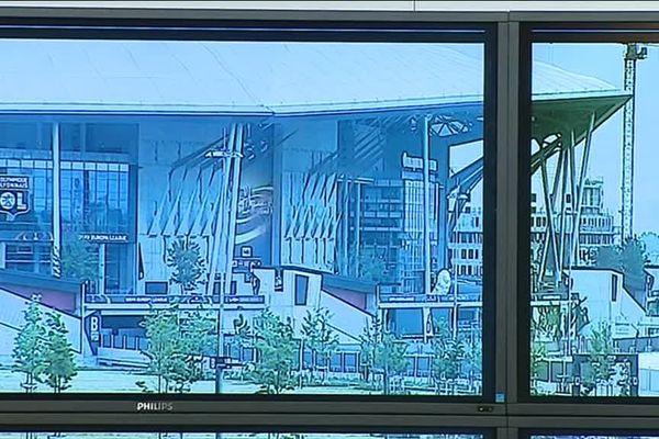 Finale ligue EUROPA : le stade de Décines sous surveillance