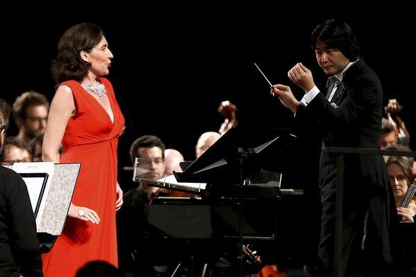 La soprano Véronique Gens est une des invités du festival de musique baroque d'Ambronay 2018.