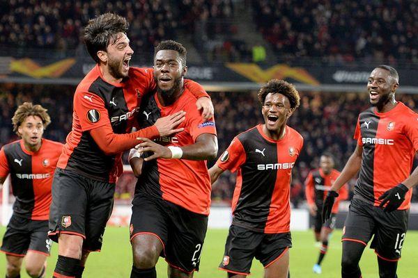 Des rouge et noirs qui exultent. Une image que l'on souhaite voir en Ligue des champions.
