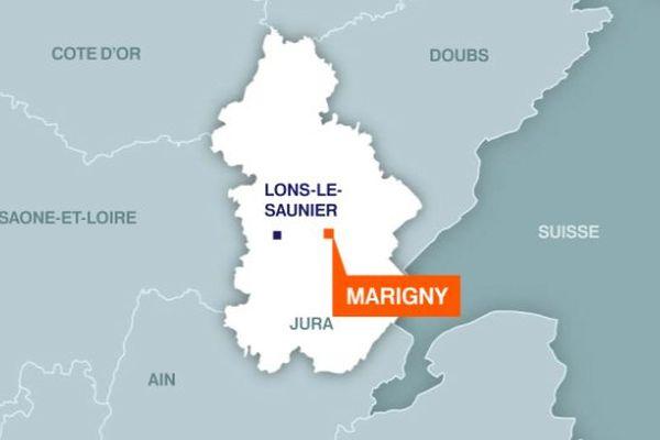 Marigny dans le Jura