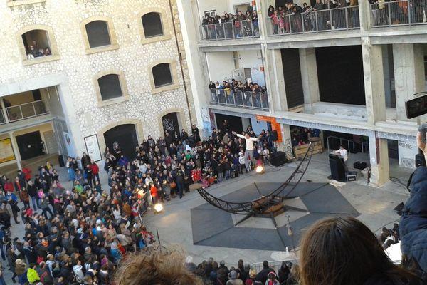 Dernière représentation pour cloturer la BIAC 2015 de Marseille