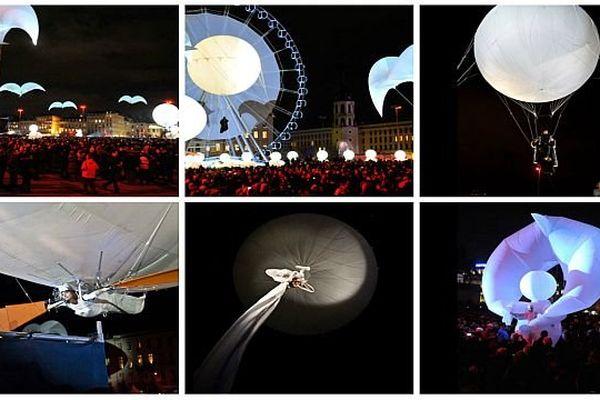 Le spectacle Envolée Chromatique est présenté à Chalon dans la rue vendredi 26, samedi 27 et dimanche 28 juillet 2013