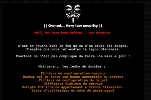 La capture d'écran du site de France 3 Auvergne, identique à tous les sites régionaux