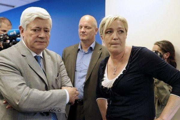 Marine Le Pen est favorable à une candidature de Bruno Gollnisch à Nice