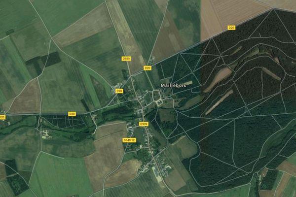 L'accident s'est produit sur la départementale 939 en Eure-et-Loir.