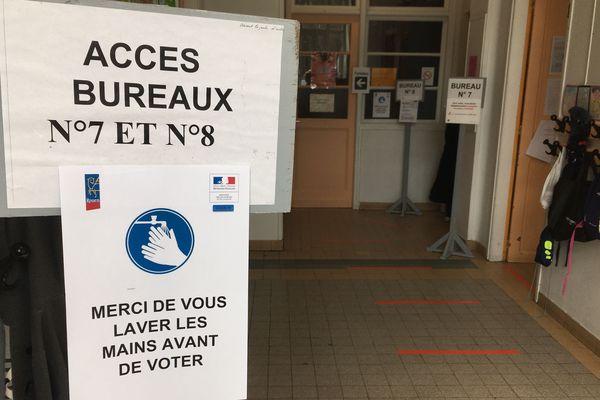 Bureau de vote désert à Rouen