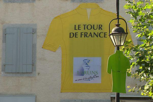 Laruns attend la 9e étape du Tour de France 2020.