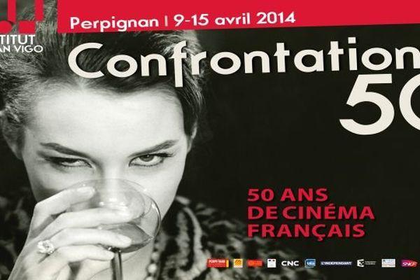 """France 3 fait son cinéma à l'occasion du festival """"Confrontation 50"""" à Perpignan : émission spéciale diffusée le samedi 12 avril 2014 à 15 h sur France 3 Languedoc-Roussillon."""
