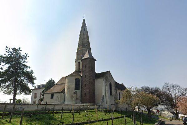L'église Saint-Martin de Sartrouville, dans les Yvelines. (Capture Google street view / avril 2019).