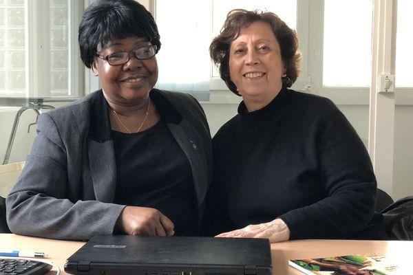 Sophie Soumaré, à gauche, et Dominique Fuchet, à droite, sont à la tête du Gams depuis les années 1980