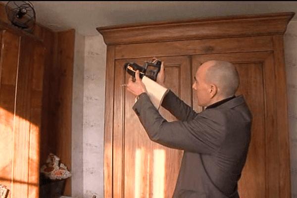 Le Conseil général de la Manche qui finance le passage d'un technicien muni d'une caméra infrarouge