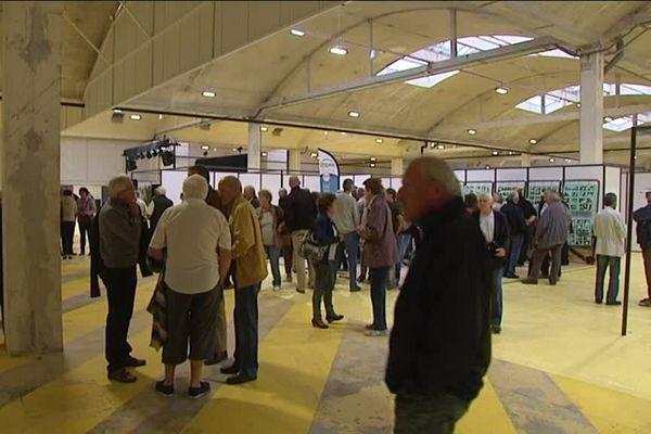 Parmi les visiteurs du jour, beaucoup d'anciens salariés d'Idéal Standard. Leur usine est devenue le nouveau parc des expositions.