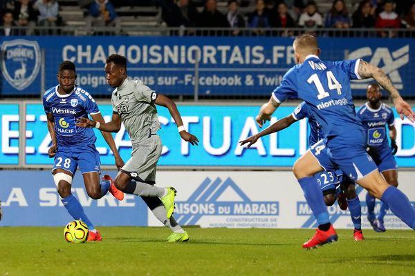 Pour la 30ème journée de championnat de Ligue 2, Niort s'est incliné à domicile face à Sochaux.