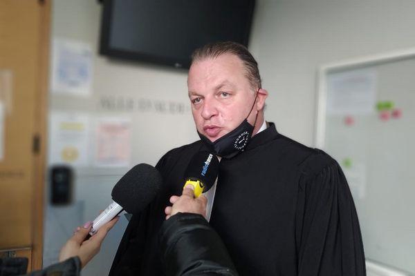 Maître Laurent Boguet, avocat des époux Menvielle.
