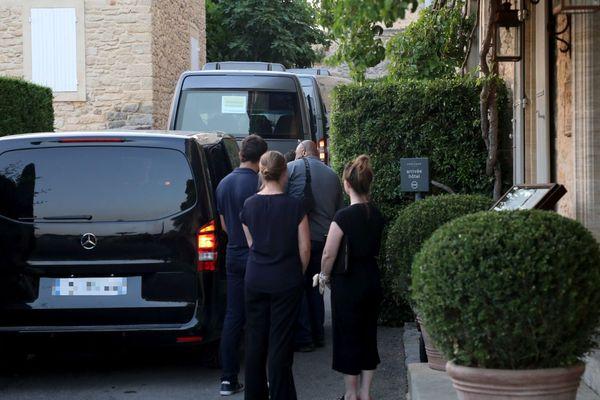 Mariage de l'actrice Sophie Turner avec le chanteur Joe Jonas, ici lors d'une soirée à l'hôtel Crillon, à Crillon le Brave près de Carpentras (Vaucluse)