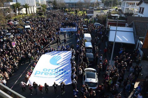 L'an dernier déjà, le 11 janvier 2020, ils étaient descendus par centaines dans les rues de Bayonne.