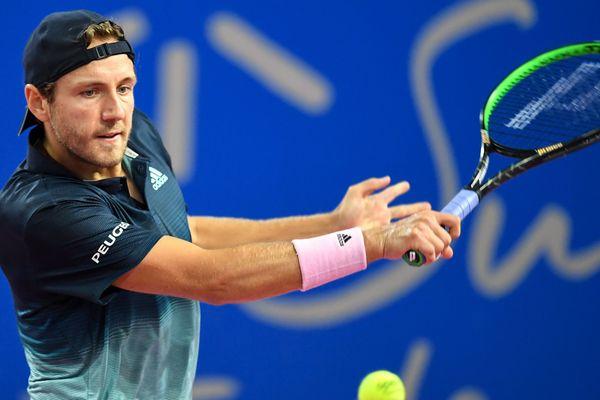 Le Français s'est laissé dominer par son adversaire, Stan Wawrinka.