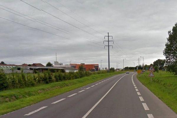 Le choc frontal très violent s'est produit boulevard de la Lys à Bousbecque