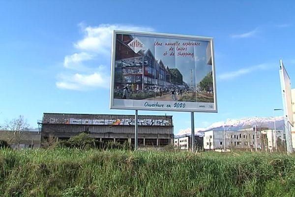 L'ouverture prévisionnelle du centre commercial Neyrpic, à Saint-Martin-d'Hères, est fixée en fin d'année 2022.