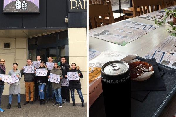 Les sets de table sont utilisés depuis lundi 27 janvier dans 14 restaurants du Calaisis.