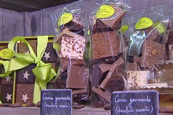 Ce week-end c'est Pâques, la deuxième grande période de l'année pour les chocolatiers.