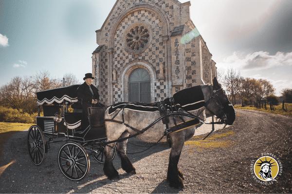 Martial Huguet et son cheval Tessa