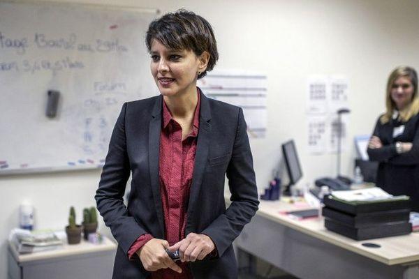 Najat Valaud-Blkacem, ministre de l'Education nationale